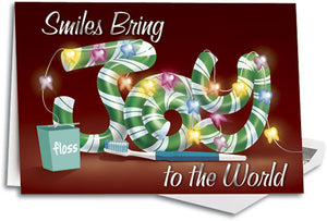 Smiles Bring Joy Deluxe Folding Card - FCL03691