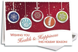 Chiro Baubles Customizable Traditional  Folding Card