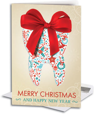 Holiday Tooth Deluxe Folding Card