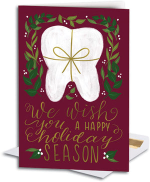 Holiday Wish Deluxe Folding Card