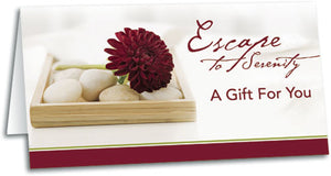 Escape to Serenity Gift Certificate