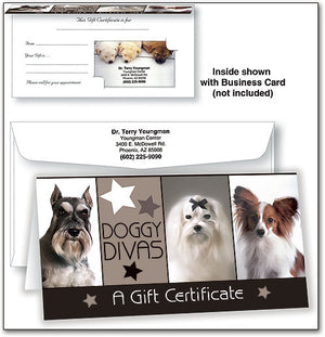 Gift Certificate - Doggy Divas