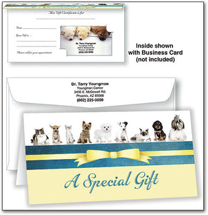 Gift Certificate - Special Gift/Pets
