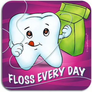 Floss Every Day Sticker