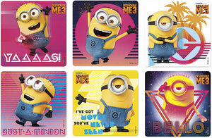 Despicable Me 3 Glitter Stickers