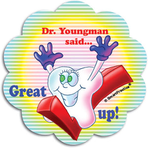 Great Checkup Personalised Sticker