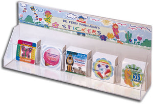 Sticker Dispenser with Personalized Banner