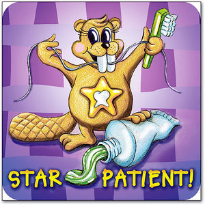 Star Patient Sticker