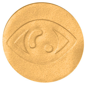 Gold Foil Eye Envelope Seal