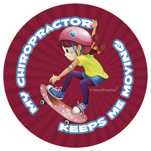 Skater Girl Sticker