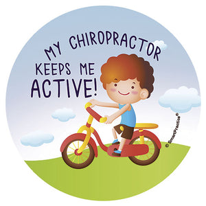 Active Kids Sticker