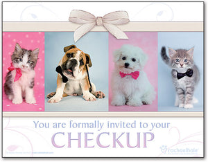 Bow Tie Pets Laser Card