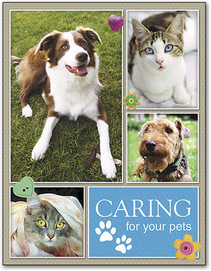 Caring for All Kinds 4-Up Laser Card