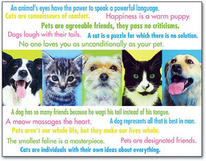 Pet Quotes Laser Card