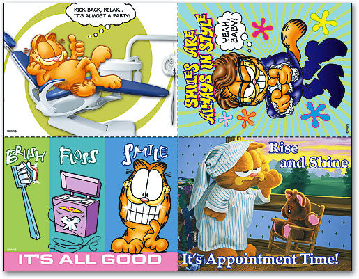 GARFIELD Appointment Time 4-up Laser Card Assortment