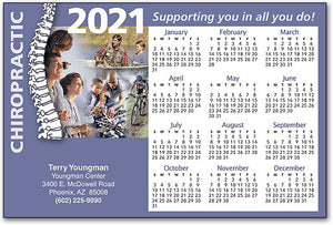 Supporting You Postcard Calendar