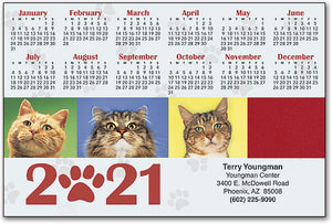 Four Cats ReStix™ Sticker Calendar