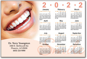 Just Smile Calendar Magnet