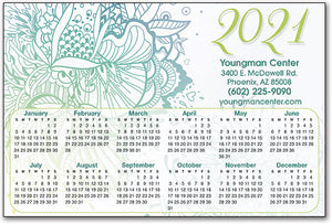 Botanical Bliss Calendar Magnet