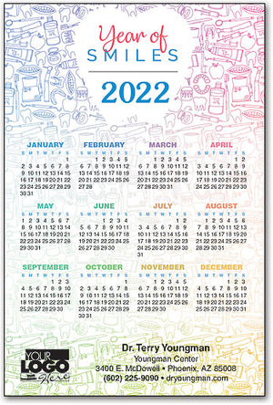 All Things Dental Calendar Magnet