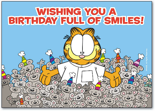 Birthday Full of Smiles Postcard