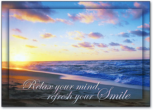 Relax Your Mind Postcard
