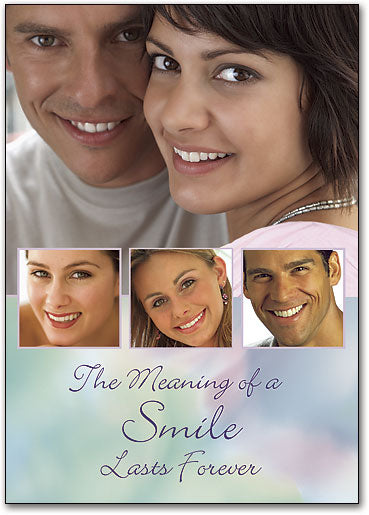Meaning of a Smile Postcard