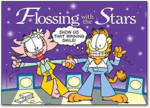 Flossing with the Stars Postcard