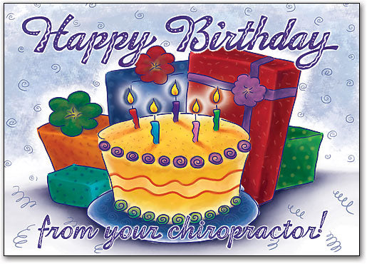 Birthday Cake Party Postcard