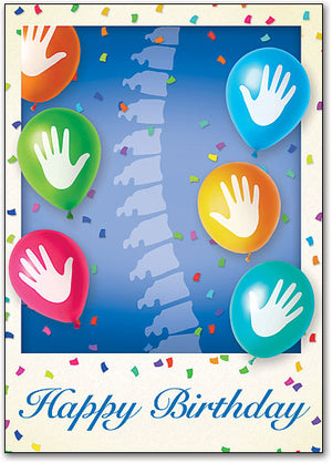 Chiropractic Celebration Postcard