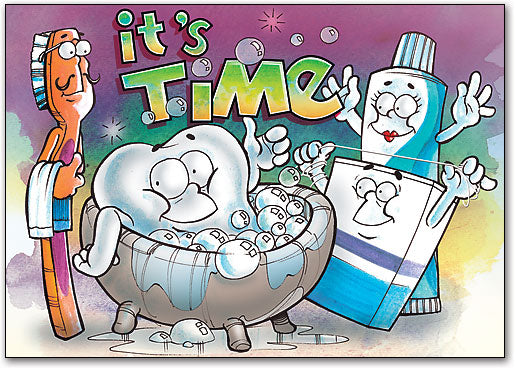 Bubble Bath Customisable Postcard