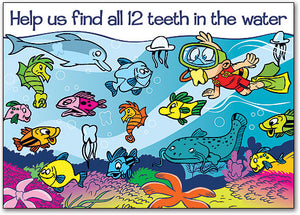Scuba Search Postcard