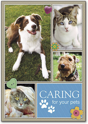Caring for All Kinds Customizable Postcard