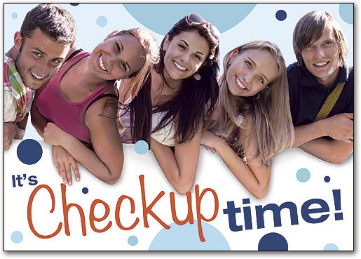 Teen Checkup Time Postcard
