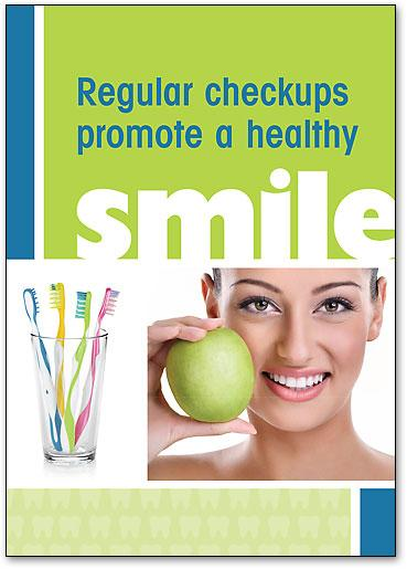 Promote Healthy Smiles customisable Postcard