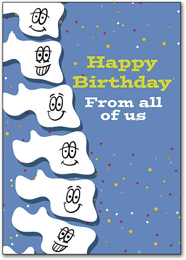 Spine Happy Customizable Standard Postcard