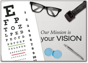 Vision Mission Customizable Postcard