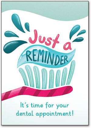 Keep On Brushing Customizable Postcard