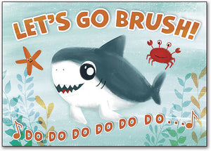 Brushing Fun Postcard