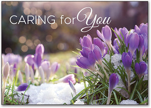Blooming Care Postcard