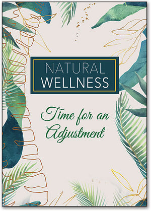 Natural Wellness Customizable Postcard