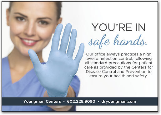 Safe Hands Postcard