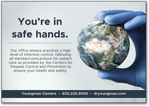 Infection Control Postcard