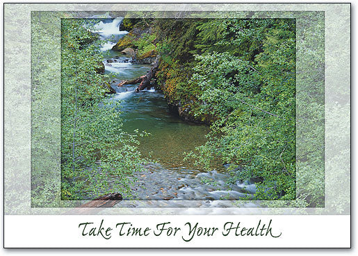 Take Time for Your Health Postcard