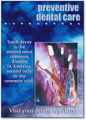Preventive Dental Care Postcard