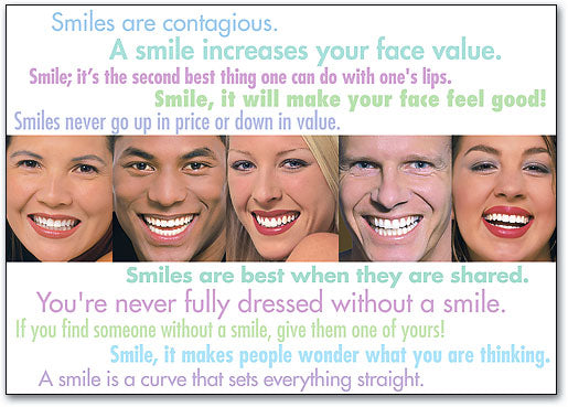Smile Quotes Postcard