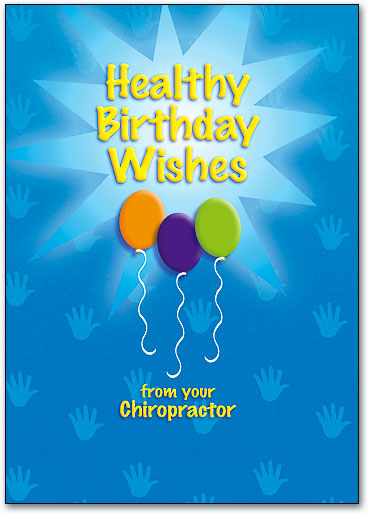 Healthy Wishes Postcard