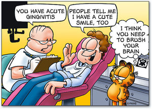 A Cute Gingivitis Postcard