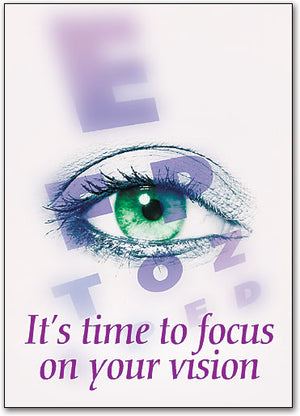 Time to Focus Postcard