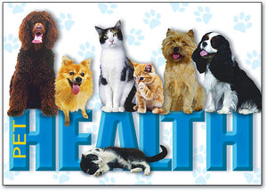 Pet Health Postcard